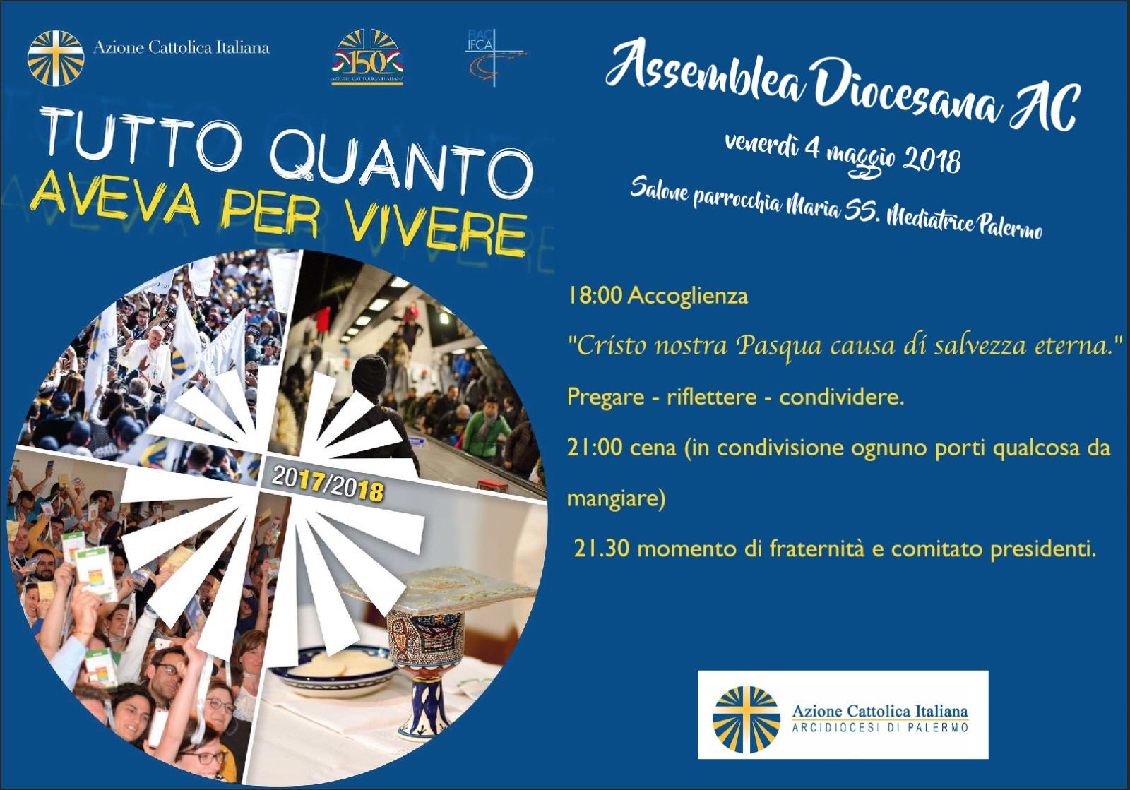 Assemblea diocesana dell'Azione Cattolica di Palermo