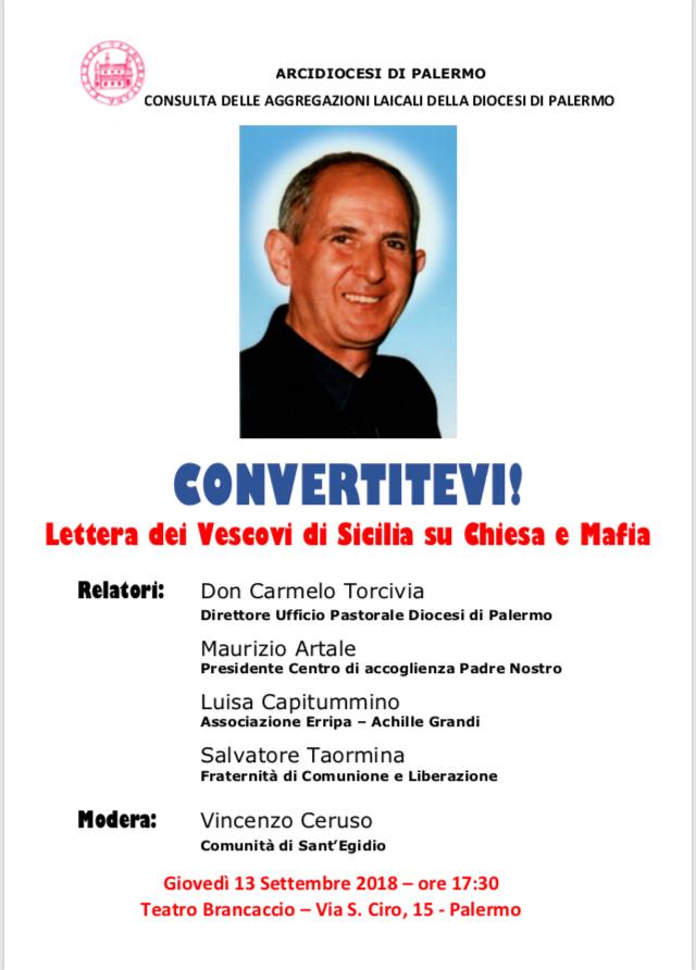 Lettera dei Vescovi di Sicilia su Chiesa e mafia