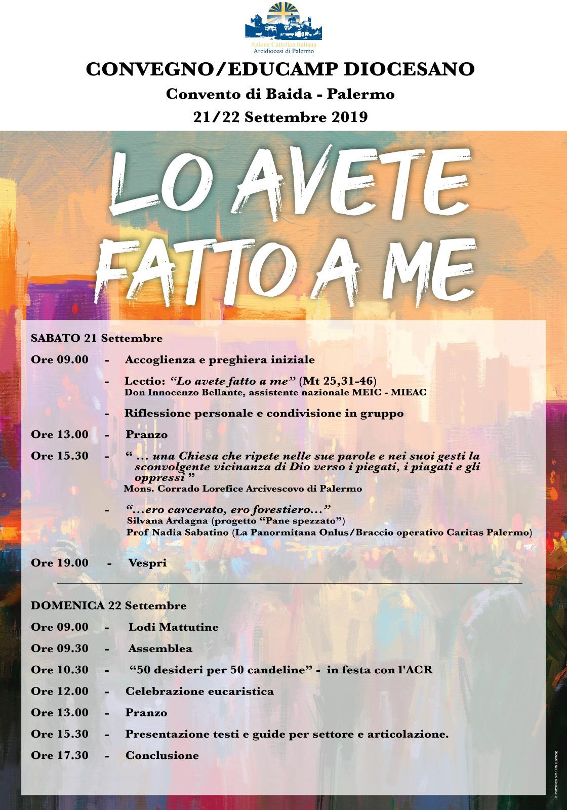 Convegno/Educamp Diocesano di Azione Cattolica
