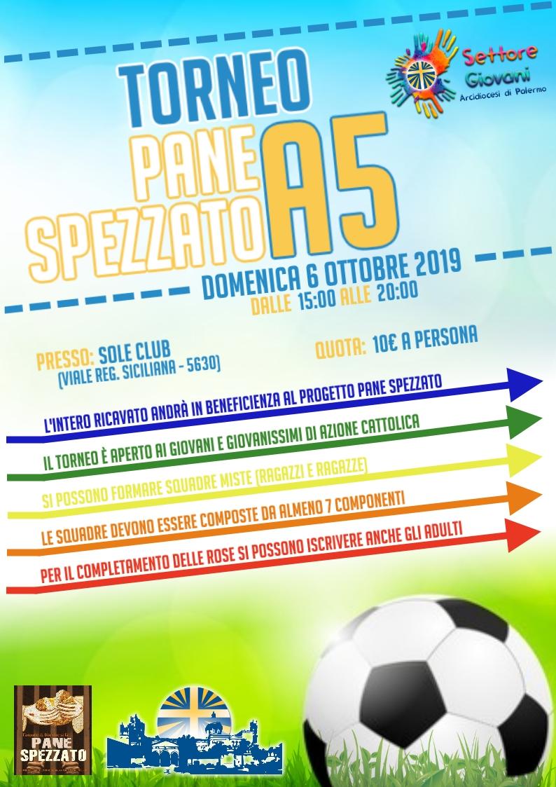 """Torneo Calcio a 5 """" Pane Spezzato"""""""